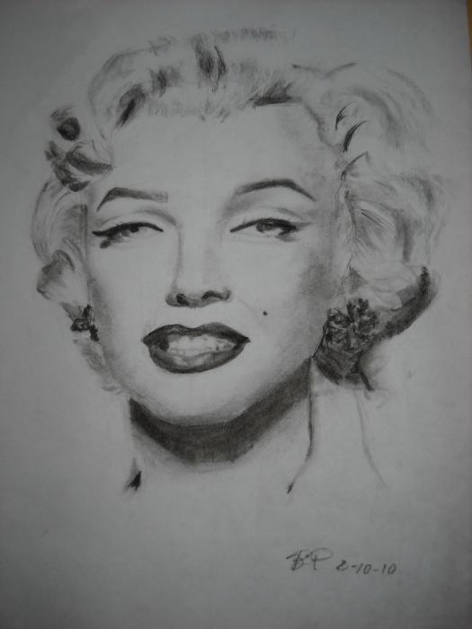 Marilyn Monroe by biaky10